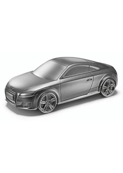 Audi TT Coupe 1:43 Scale Model Paperweight Thumbnail