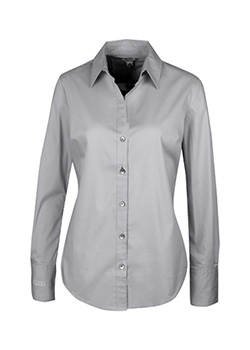 Calvin Klein® Stretch Woven Shirt - Ladies Thumbnail